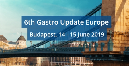 Marque na sua agenda: 6th Gastro Update Europe
